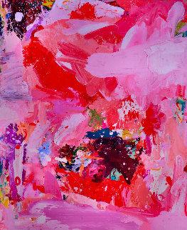 Sirens 2017 74x62 Original Painting by Costel Iarca