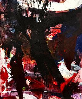 Outside World 2017 72x60 Huge Original Painting - Costel Iarca