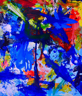 Through the Ages 2017 74x62 Original Painting by Costel Iarca