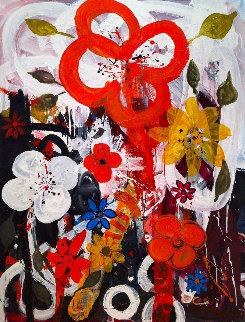 Innocence 2017 64x52 Original Painting by Costel Iarca