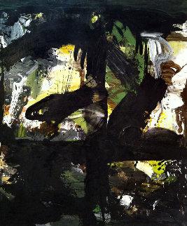 Emotional Distance 2017 74x62 Huge Original Painting - Costel Iarca