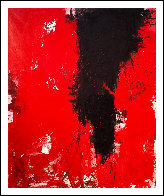 A Fly Buzz  2017 74x62 Huge Original Painting by Costel Iarca - 1