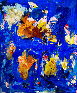 Perspectives 2017 74x62 Original Painting - Costel Iarca