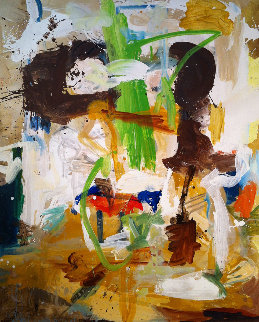 That Time of Year  2017 74x60 Huge Original Painting - Costel Iarca