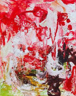 Magical Apperance  2017 74x62 Huge Original Painting - Costel Iarca