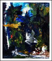 Poem Expressed 2017 74x62 Super Huge Original Painting by Costel Iarca - 1