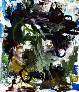 Introduction  2017 74x62 Super Huge Original Painting - Costel Iarca