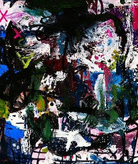 Dialogue 2017 74x62 Original Painting by Costel Iarca