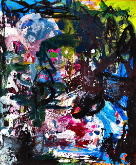 Human Experience  2017 74x62 Original Painting by Costel Iarca