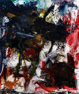 So Refined 2017 74x62 Huge Original Painting - Costel Iarca
