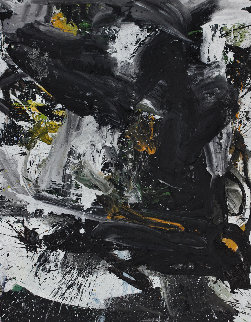 Emotion Contained 2017 62x52 Huge Original Painting - Costel Iarca
