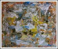 Cosmic Patterns 2017 81x97 Huge Original Painting by Costel Iarca - 1