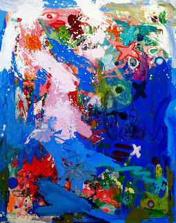 Formality 2017 62x50 Huge Original Painting - Costel Iarca