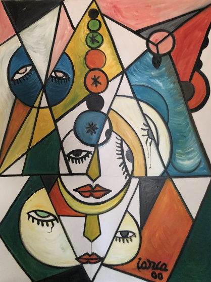 Delight 2000 40x30 Original Painting by Costel Iarca