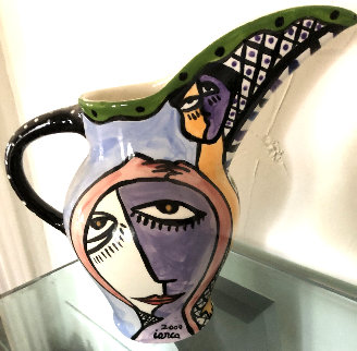 Untitled Ceramic Pitcher 2000 11 in Other - Costel Iarca