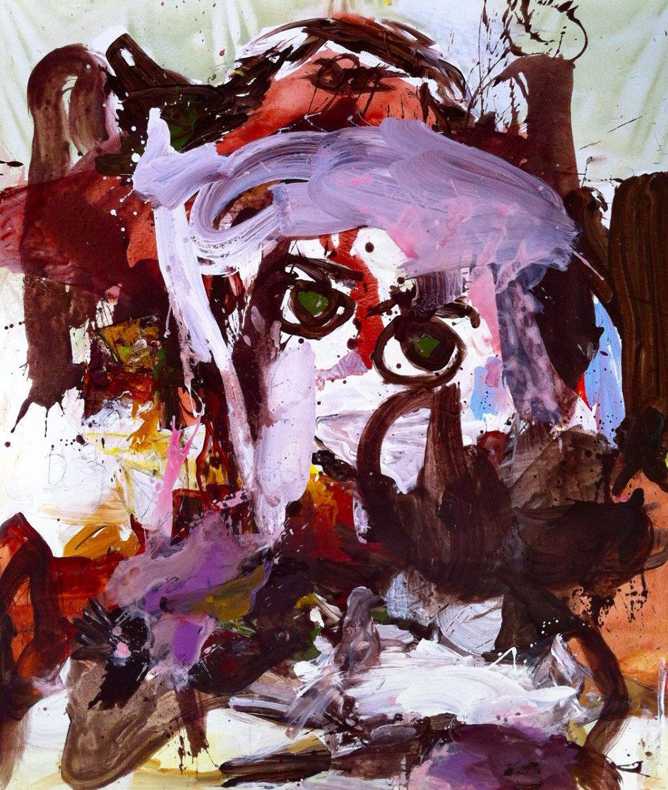 Shadows 2017 72x62 Original Painting by Costel Iarca
