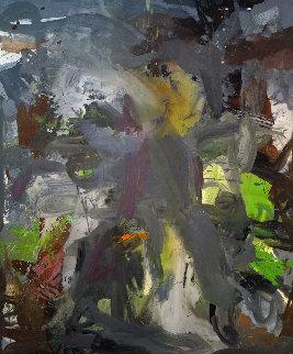 Good Luck Charm 2017 72x70 Huge Original Painting - Costel Iarca