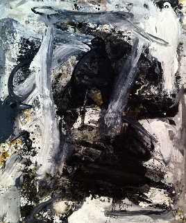 Symbolic Affirmation 2017 72x60 Huge Original Painting - Costel Iarca