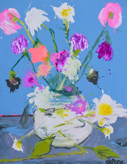 Still Life Nr 9 2020 62x50 Original Painting - Costel Iarca