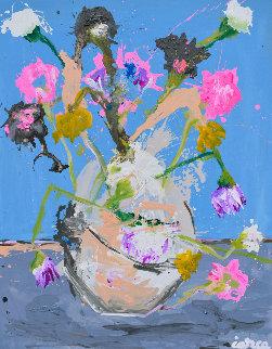Still Life Nr 10 2020 62x50 Huge Original Painting - Costel Iarca