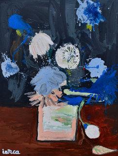Still Life Nr 11 2020 62x50 Original Painting by Costel Iarca