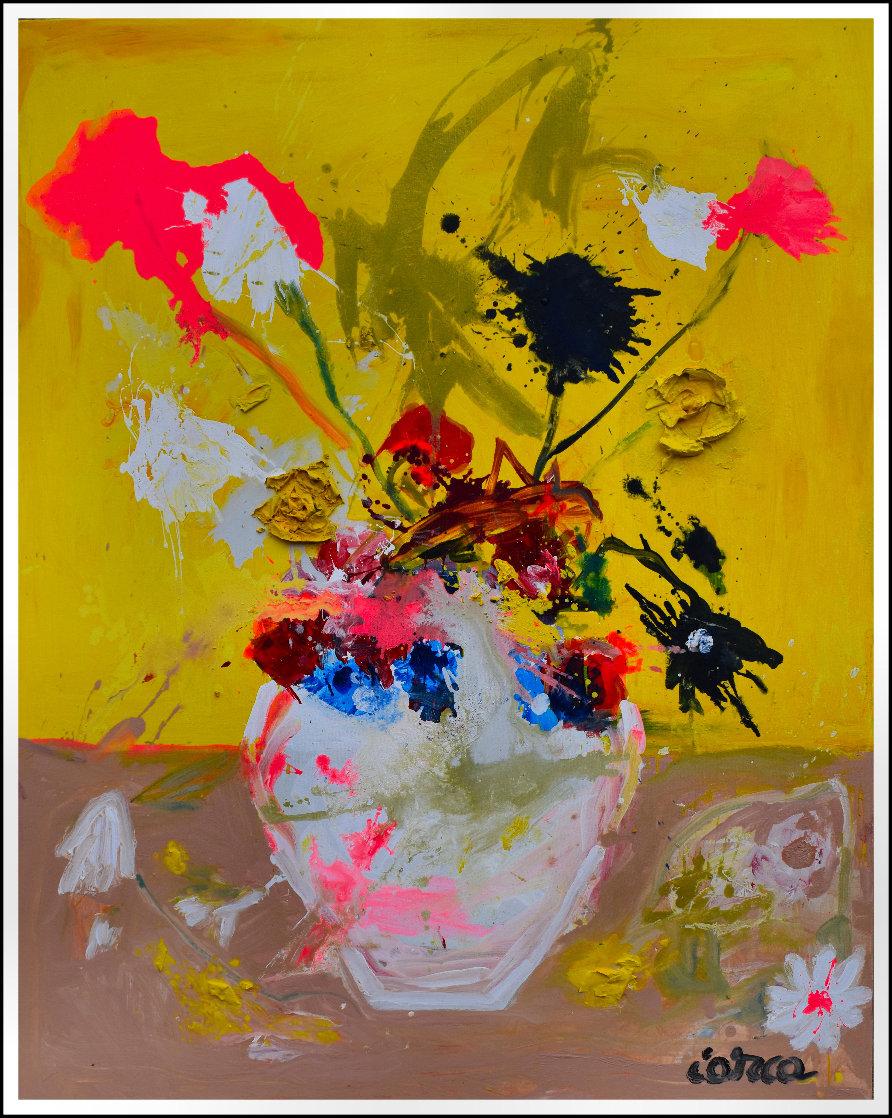 Still Life # 12 2020 62x50  Huge Original Painting by Costel Iarca