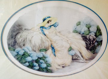 Hydranges 1929 Limited Edition Print - Louis Icart