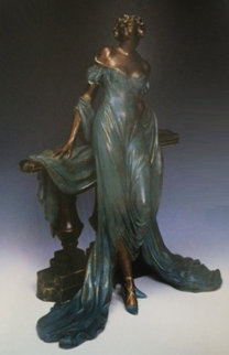 Werther Bronze Sculpture  1986 15 in Sculpture - Louis Icart
