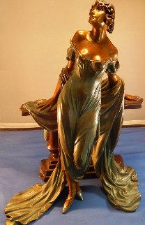 Werther Bronze Sculpture  1986 15 in Sculpture - Louis Icart