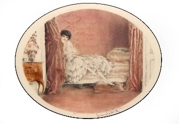 Pink Alcove 1929 Limited Edition Print - Louis Icart