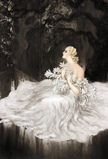 Lillies 1934 Limited Edition Print - Louis Icart