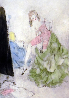 Getting Dressed 25x26 Limited Edition Print - Louis Icart