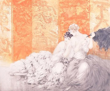 Mockery  1928 Limited Edition Print - Louis Icart