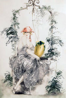 Wishing Well Limited Edition Print - Louis Icart