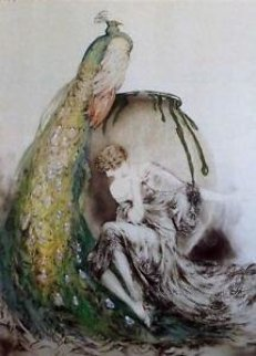 Peacock  Limited Edition Print by Louis Icart