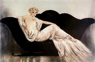 Sofa Limited Edition Print - Louis Icart