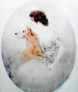 Best Friends 1923 Limited Edition Print by Louis Icart