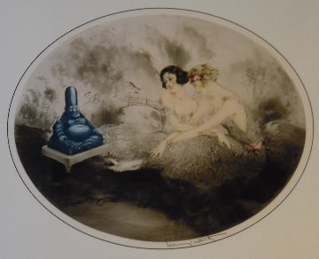 Laughing Buddha Limited Edition Print - Louis Icart