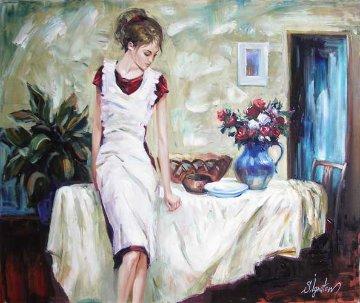Just the Next Day 2006 19x23 Original Painting by Sergey Ignatenko
