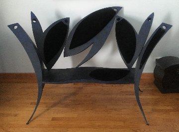 Boban Ilic Unique Metal Bench 45x59 Huge Sculpture - Boban Ilic