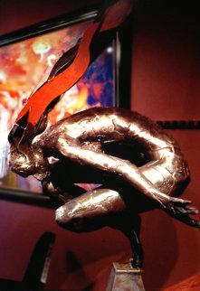 Goddess of Wisdom Bronze Unique Sculpture 2001 Sculpture by Boban Ilic