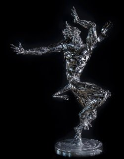 Bael Stainless Steel Original Sculpture 2008 35 in Sculpture - Boban Ilic