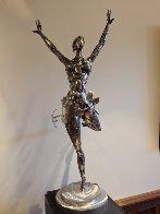 Ballerina No. 2 Stainless Original Steel Sculpture 44 in Sculpture by Boban Ilic - 1