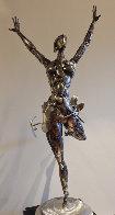 Ballerina No. 2 Stainless Original Steel Sculpture 44 in Sculpture by Boban Ilic - 0