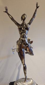 Ballerina No. 2 Stainless Original Steel Sculpture 44 in Sculpture - Boban Ilic