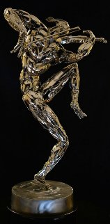 Violinist Stainless Steel Sculpture 2014 27 in Sculpture by Boban Ilic