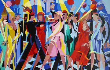Party Time 1989 Limited Edition Print - Giancarlo Impiglia