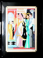 Dreamlike 1989 43x33 Huge Original Painting by Giancarlo Impiglia - 2