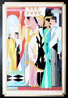 Dreamlike 1989 43x33 Huge Original Painting by Giancarlo Impiglia - 1