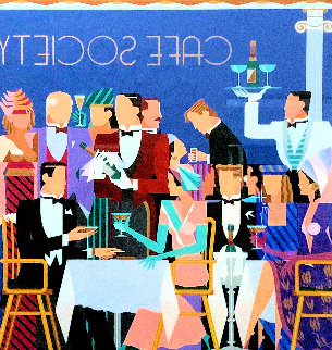 Cafe Society 1987 Limited Edition Print - Giancarlo Impiglia